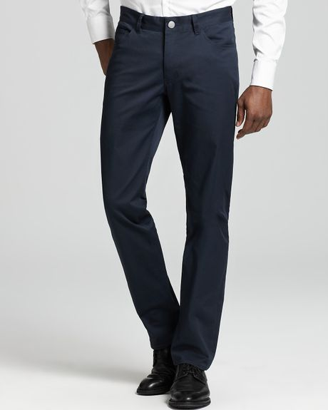 Theory Editor Haydin Pants in Blue for Men (eclipse)