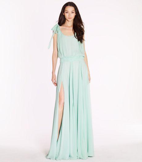 Tory Burch Beckett Dress in Blue (mermaid)