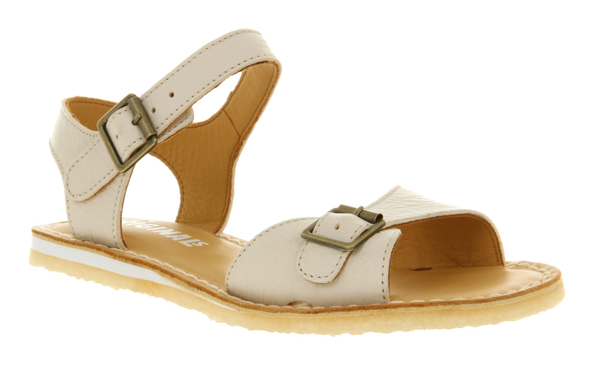 03b9ea9ccf6c Lyst - Clarks Kestral Soar Sandal White Leather in White