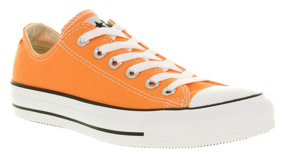 9c0bd6e98e29 Lyst - Converse All Star Ox Low Nectarine Ornge in Orange for Men