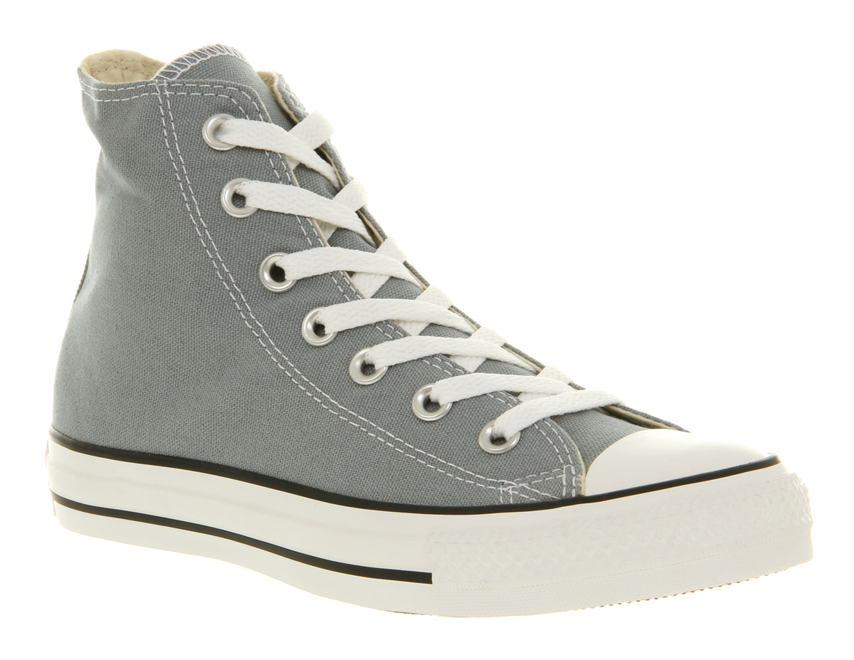 Converse all star hi lead grey st in gray for men lyst - Graue converse ...