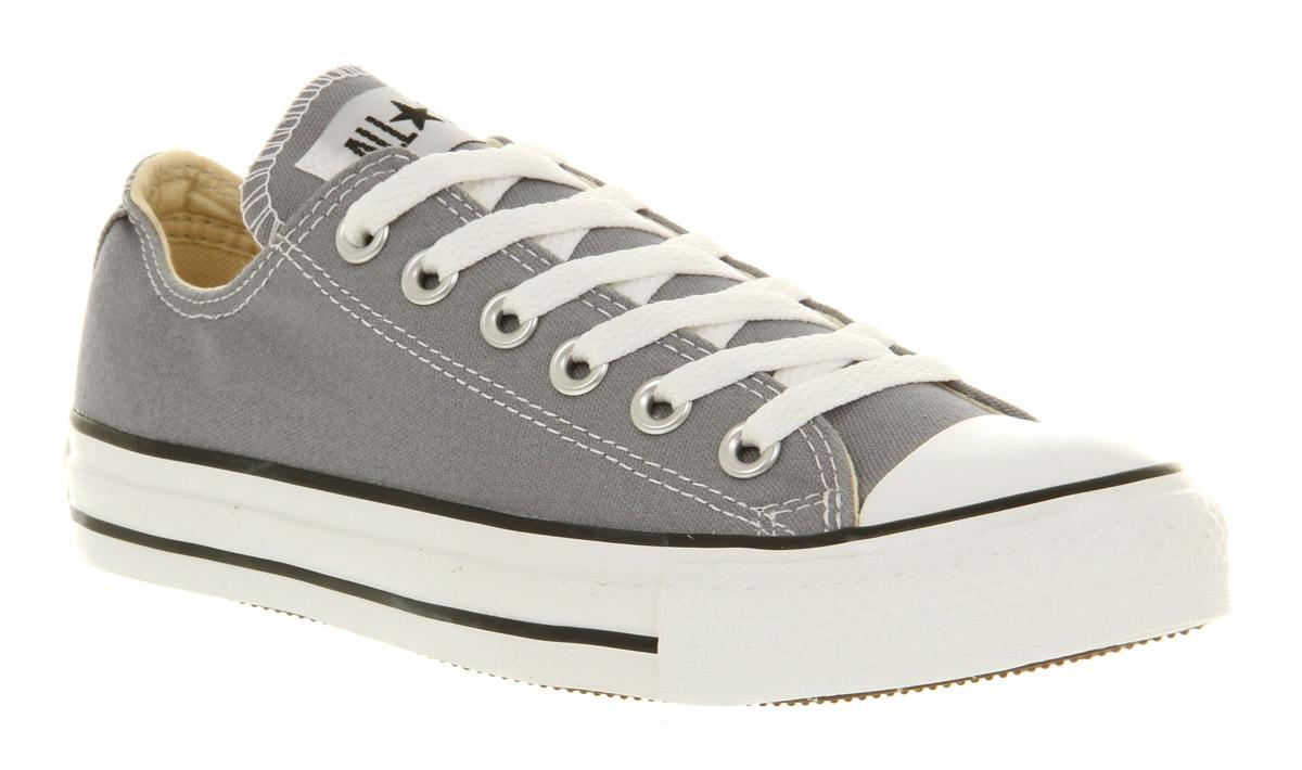 Lyst - Converse All Star Ox Low Lead Grey St in Gray for Men ae6ed08da