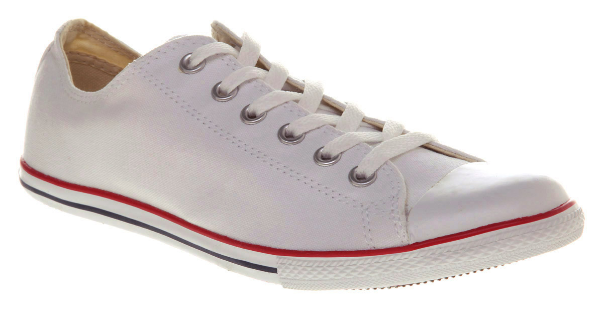 ... buy lyst converse chuck taylor slim white in white for men 0815b e463f  shop converse all star ... 2412dba03