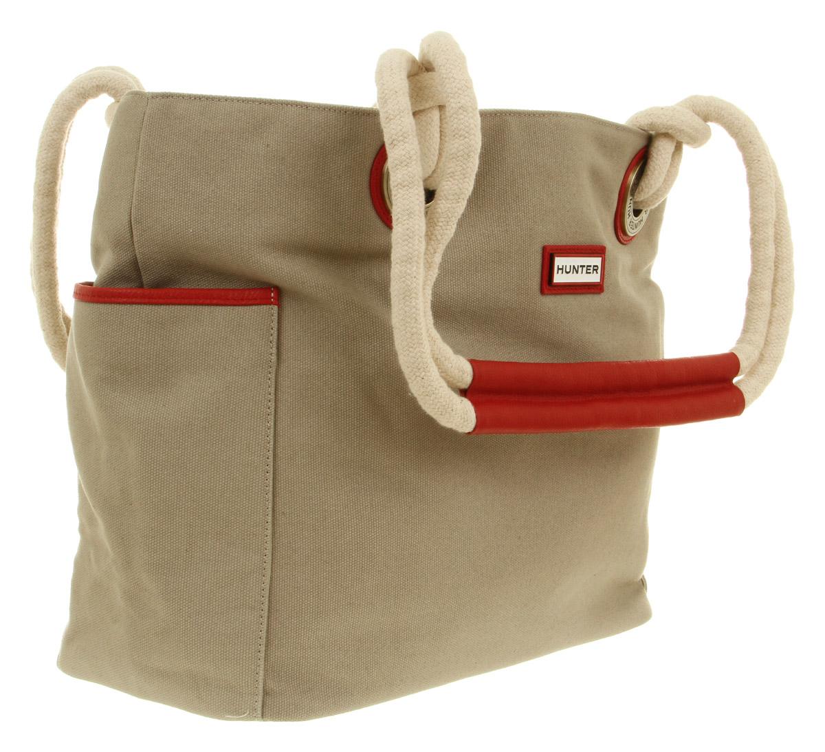 Hunter Plain Beach Bag aNatural Coir in Natural | Lyst