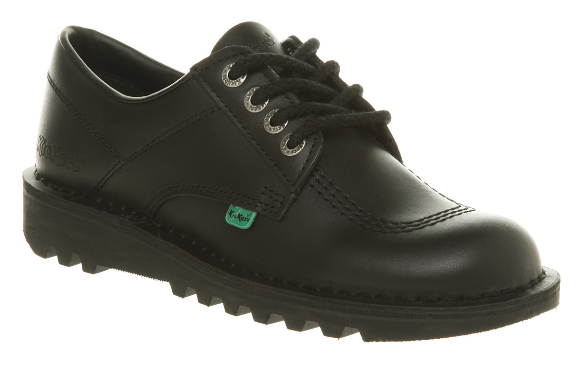 Product Features Kickers kick Hi's are a full leather boot that is great for work school.