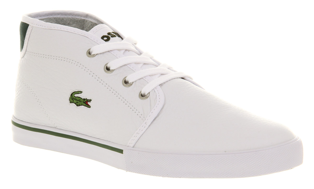 lacoste shoes ampthill sneaker white cleaner