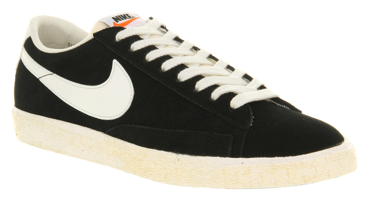 Lyst - Nike Blazer Low Vintage Black Suede in Black for Men f93b3ae50