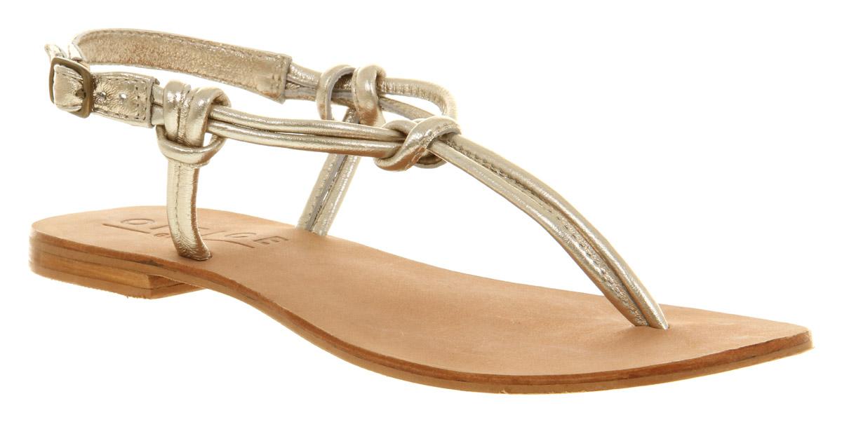 Gallery Women S Gold Sandals