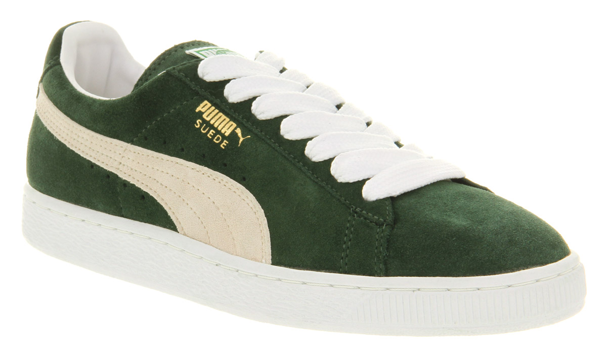 Lyst - PUMA Suede Classic Pine Needle in Green for Men 3ae836c3a