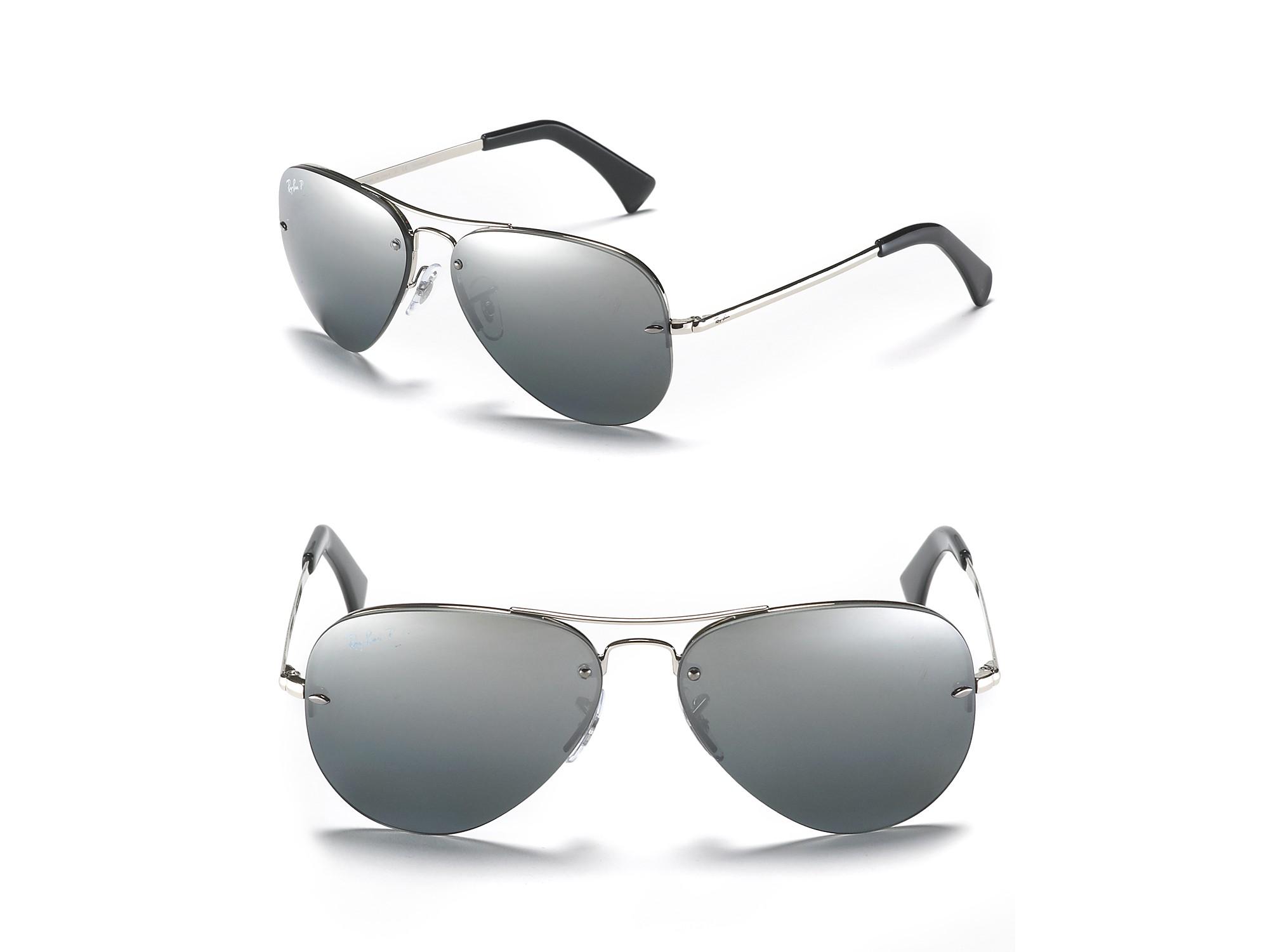 ray ban rimless small aviator sunglasses  ray ban silver large aviator sunglasses ray ban silver large aviator sunglasses
