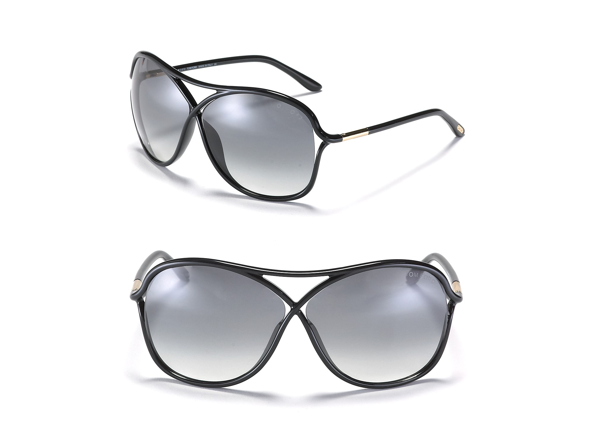 Lyst Tom Ford Vicky Crossover Aviator Sunglasses In