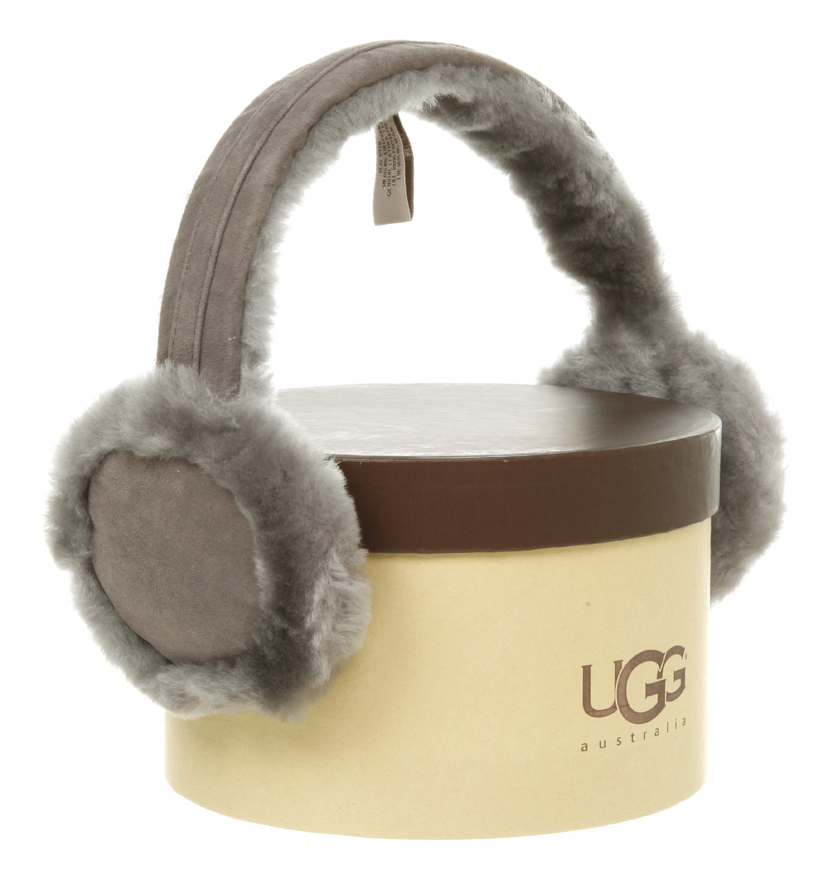 UGG Ear Muffs Grey in Gray - Lyst