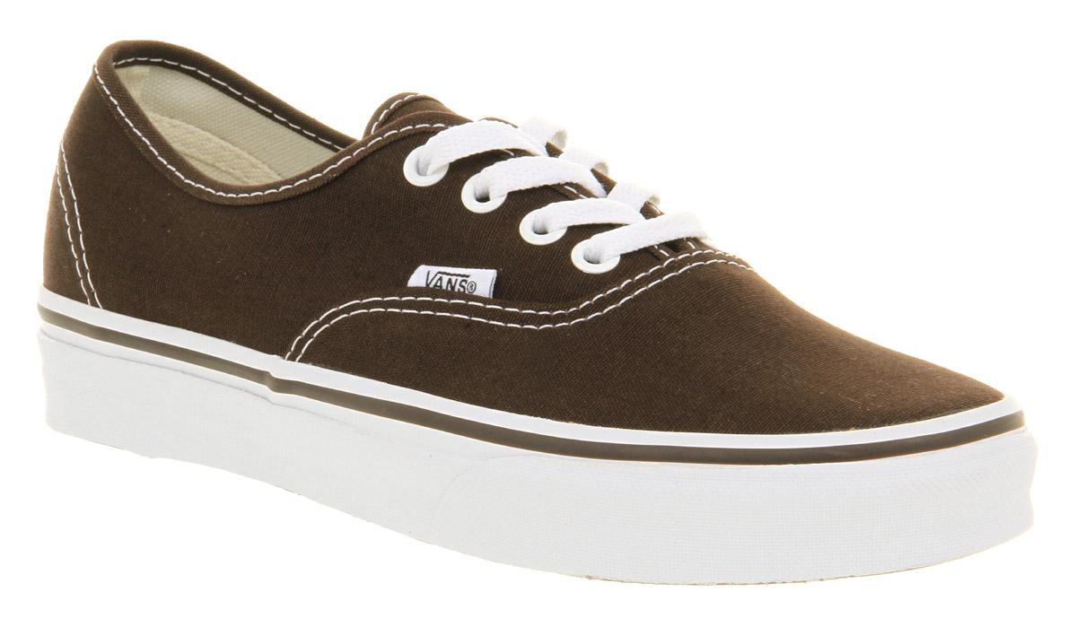 brown vans