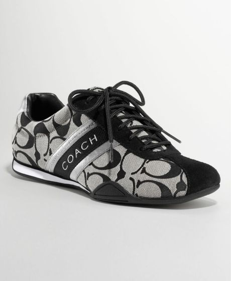 Coach Jayme Sneakers Shoes Black Womens