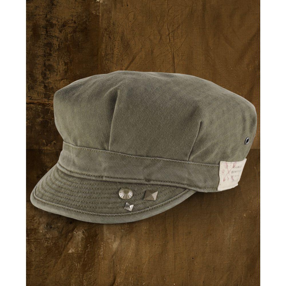 denim supply ralph lauren military cap in natural for men lyst. Black Bedroom Furniture Sets. Home Design Ideas