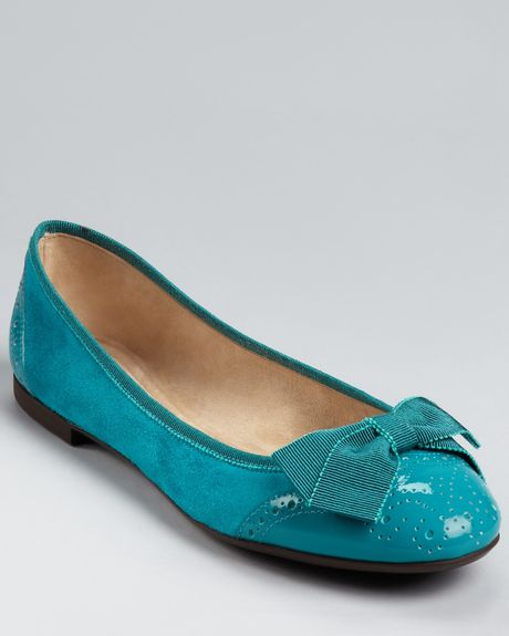 Ferragamo Teal Men Shoes