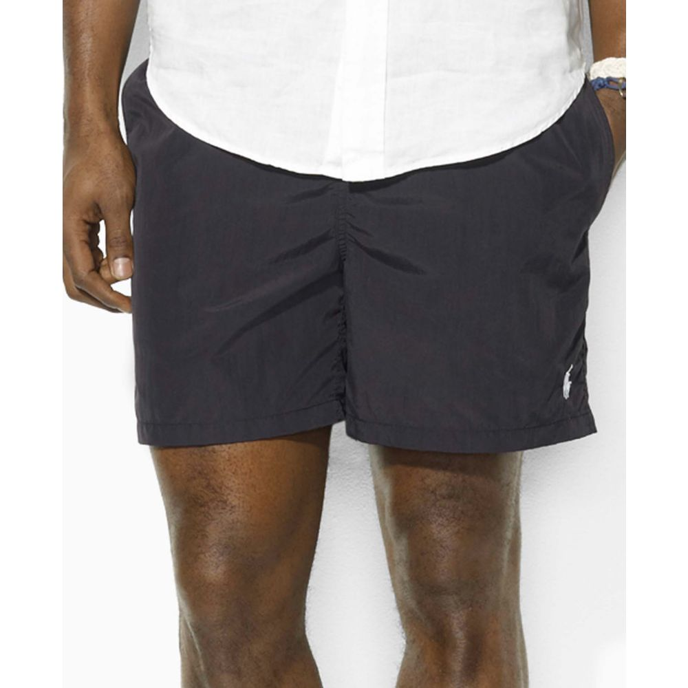 ralph lauren hawaiian boxer swim shorts in black for men polo black lyst. Black Bedroom Furniture Sets. Home Design Ideas