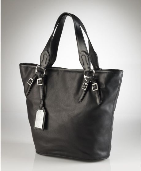Lauren By Ralph Lauren Hancock Tote in Black