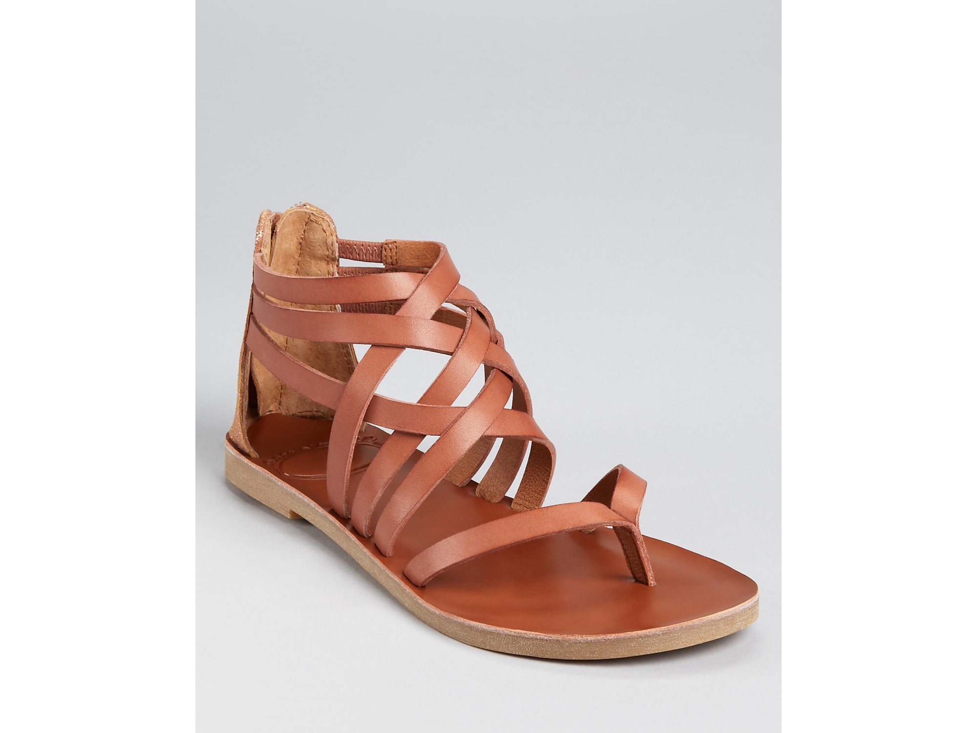 Lyst Lucky Brand Sandals Heda Strappy In Brown