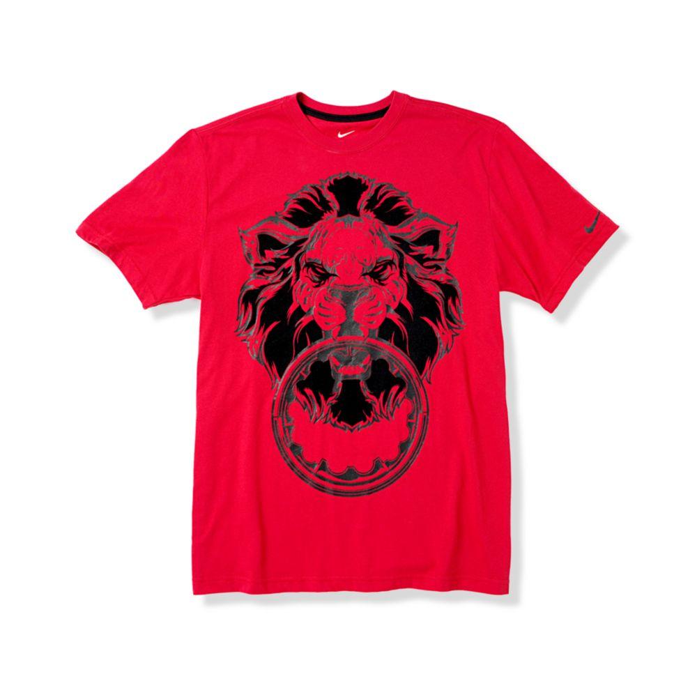 88b19fbf Nike Lebron Lion Crown Drifit Tee in Gray for Men - Lyst