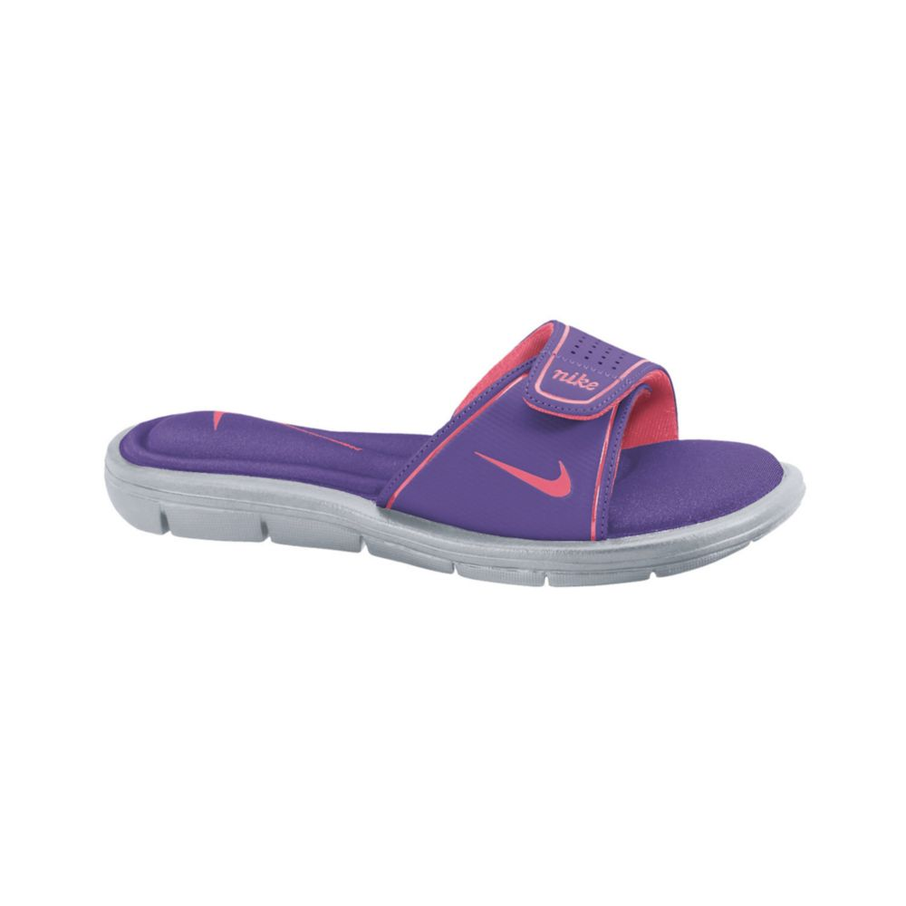 f8b159de6 Lyst - Nike Comfort Slide Sandals in Purple
