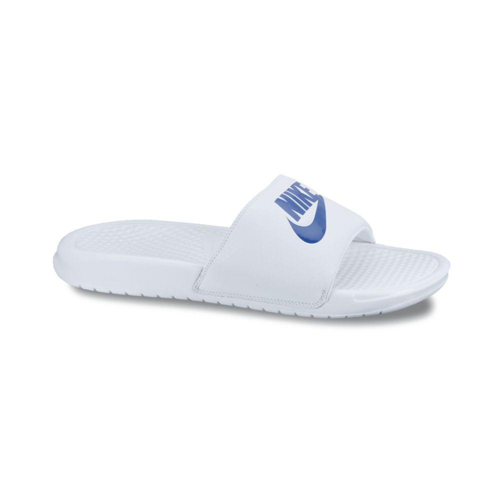 Lyst Nike Benassi Jdi Sandals In White For Men