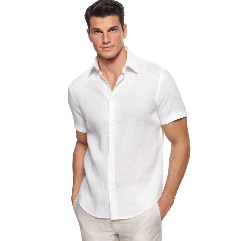 Linen Shirts for Men: Long or Short Sleeve