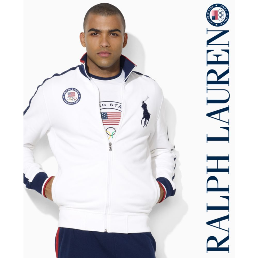 ralph big and team usa olympic fullzip stretch