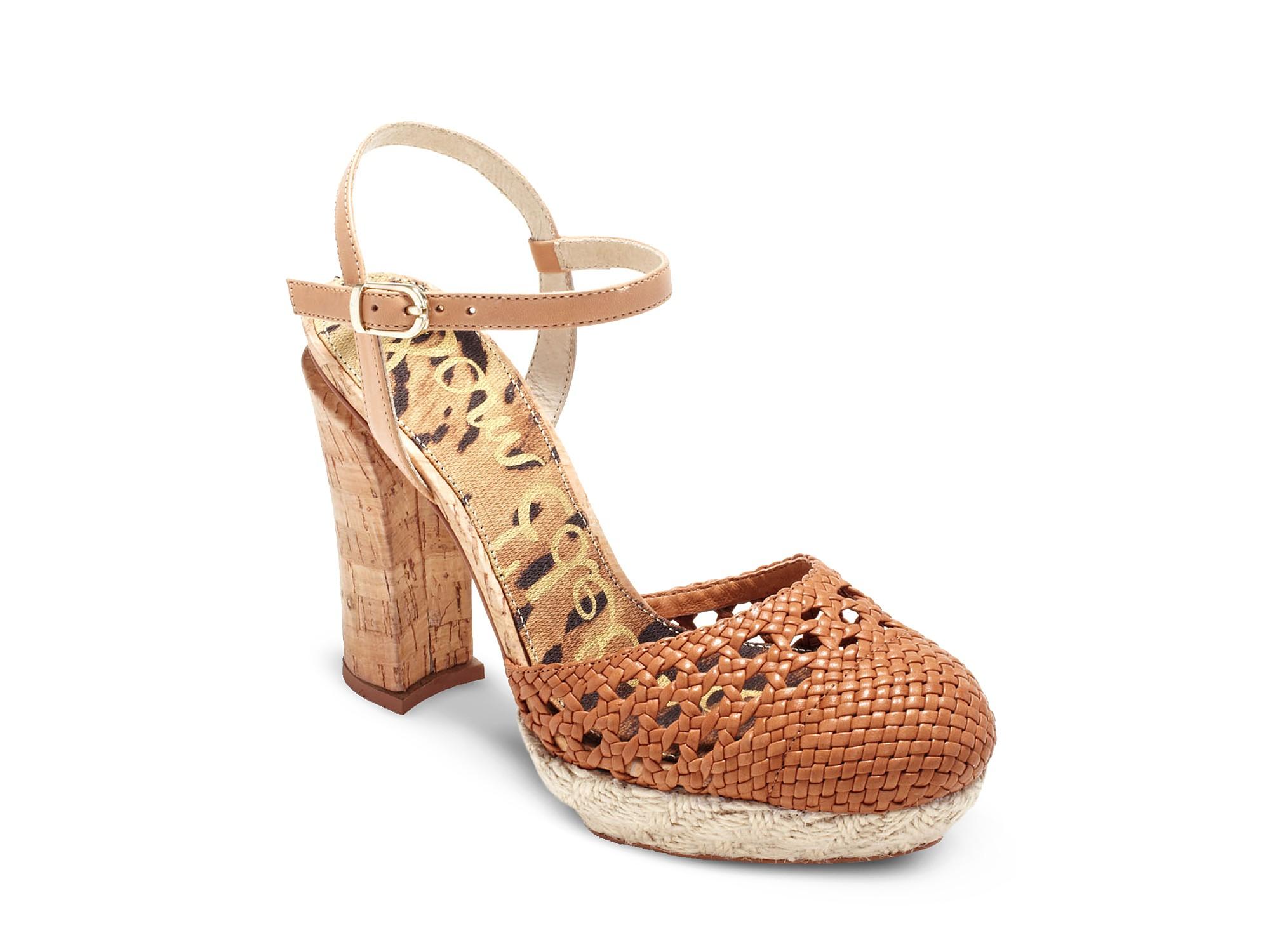 749395733fa Sam Edelman Black Rella Chunky Heel Closed Toe Sandals
