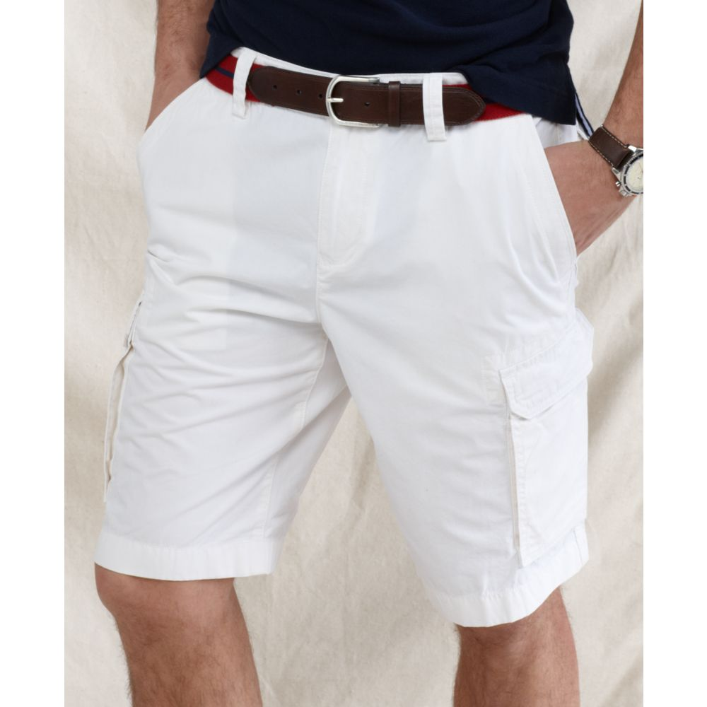 5d1a040c9e Tommy Hilfiger Back Country Cargo Shorts in White for Men - Lyst