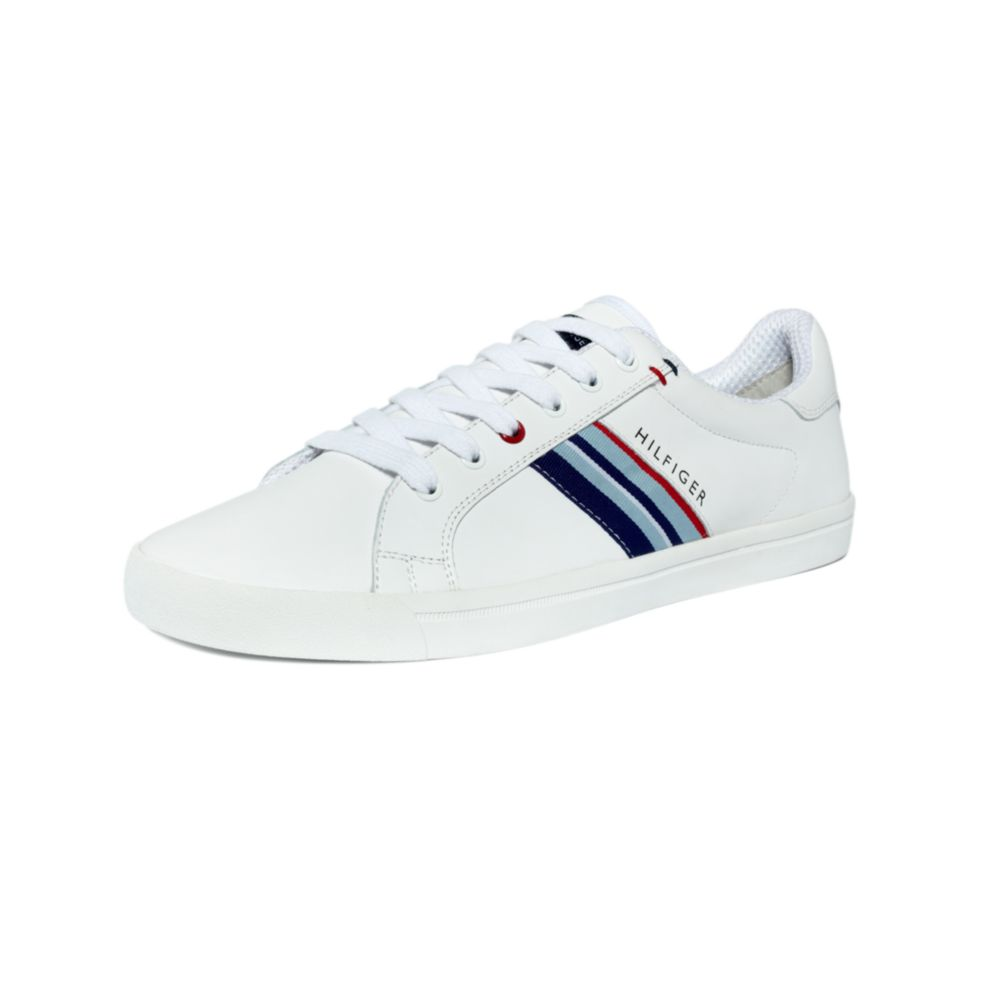 93eacf1ccf29b9 Lyst - Tommy Hilfiger Elvi Lace Up Sneakers in White for Men