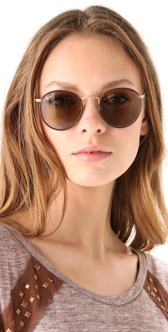 ray ban round craft glasses