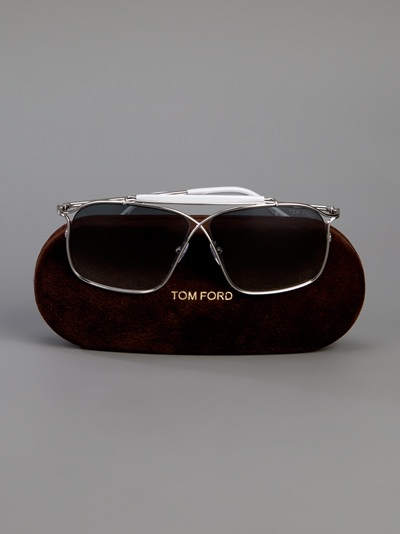 Tom Ford Felix Sunglasses in Silver (Metallic) for Men