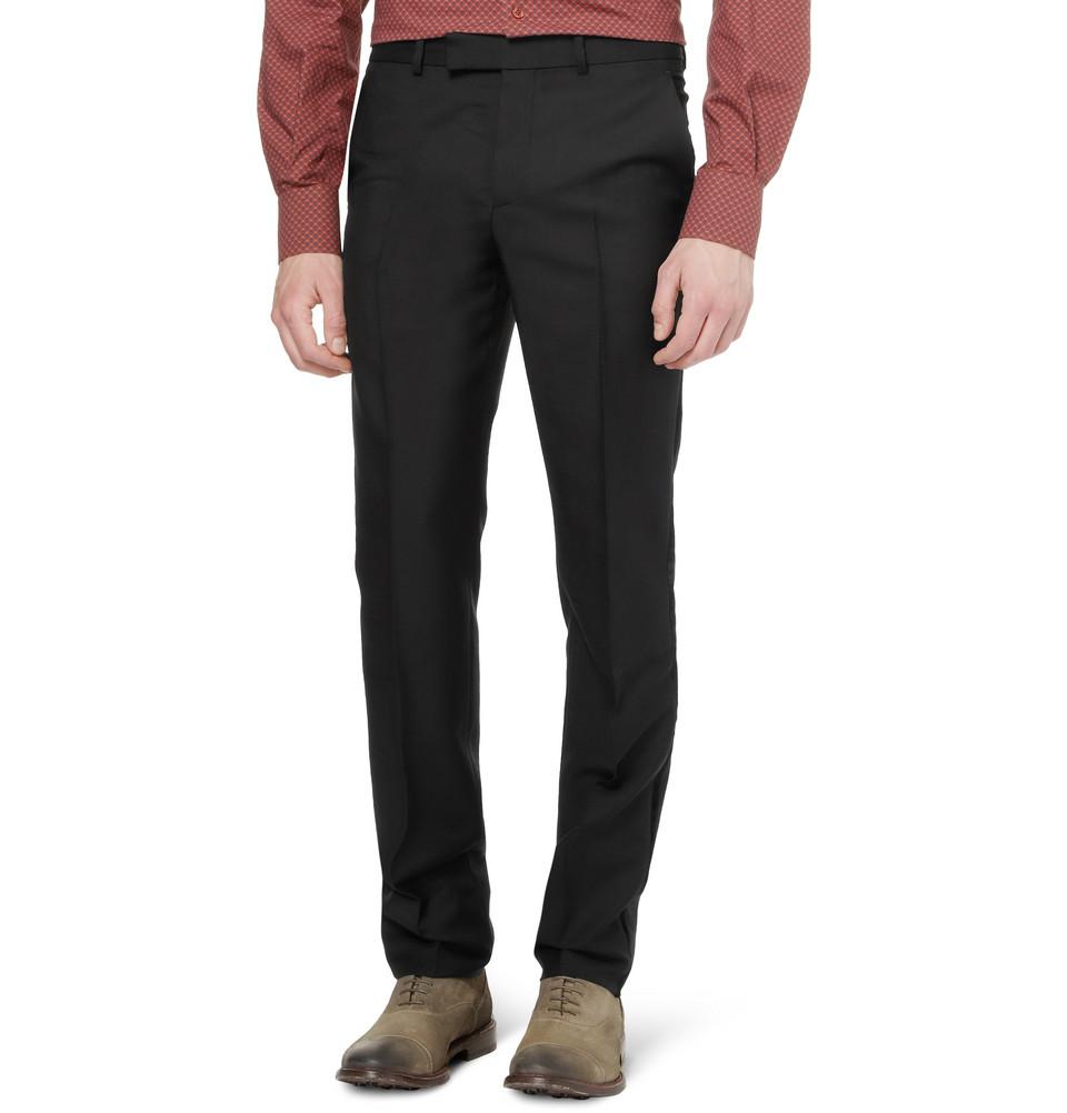 Alexander McQueen Formal Trousers in Black for Men