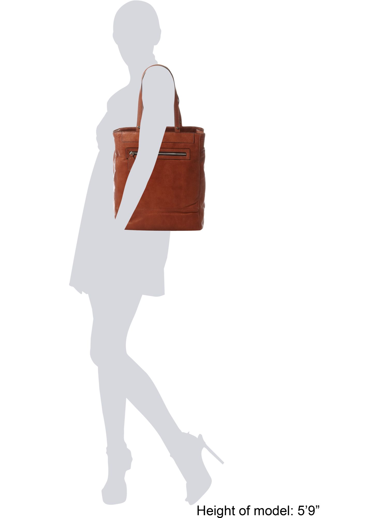 Coccinelle Tote Bag in Tan (Brown)