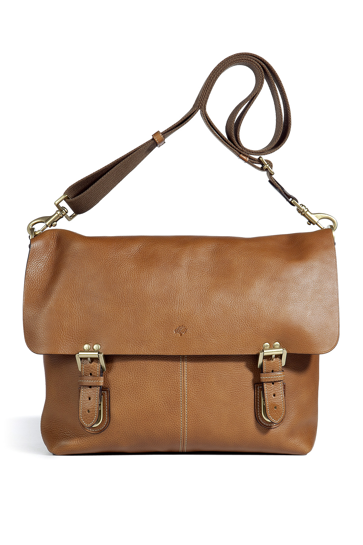 461cc1744663 Lyst - Mulberry Barnaby Messenger Bag in Brown for Men