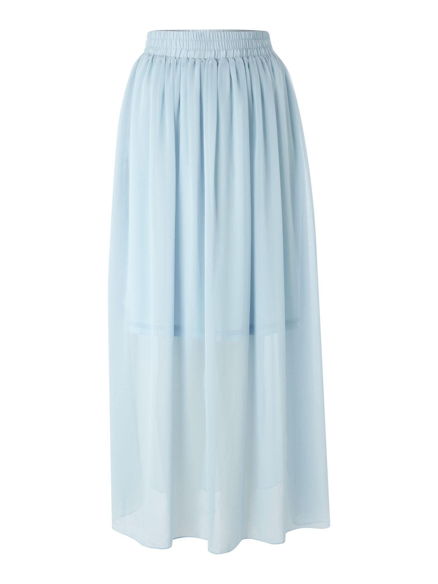 Light blue maxi skirt – Modern skirts blog for you