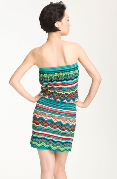 Laundry By Shelli Segal Sweater Dress Strapless in ...