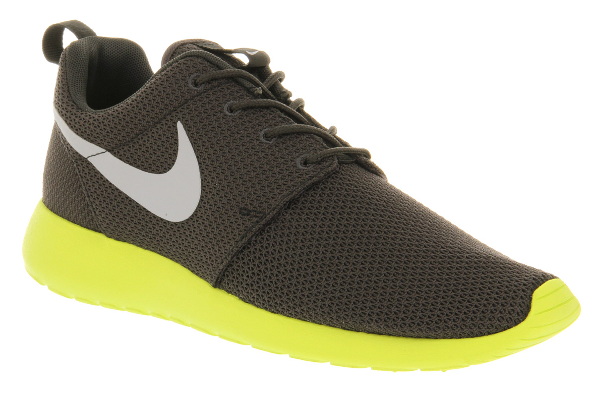 nike roshe run anthracite wolf grey in gray for men lyst. Black Bedroom Furniture Sets. Home Design Ideas