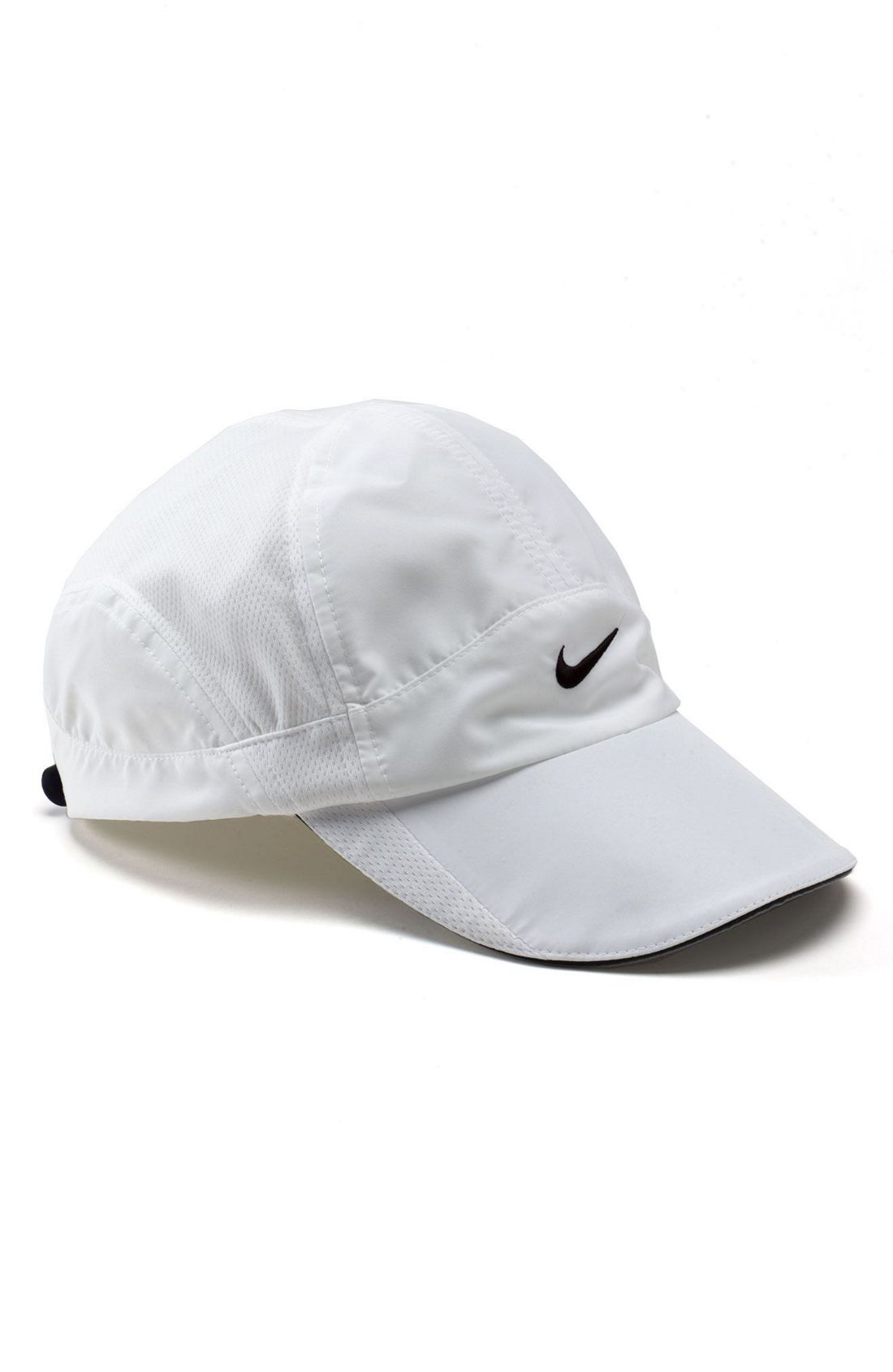 nike feather light cap in white end of color list white lyst. Black Bedroom Furniture Sets. Home Design Ideas