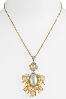 Alexis Bittar Elements Stone Cluster Pendant Necklace - Lyst