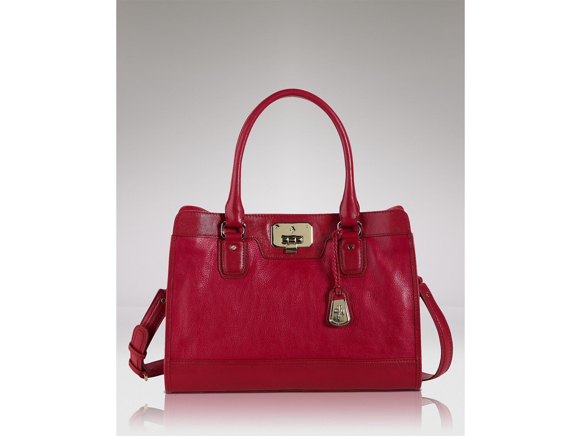 Cole Haan Handbag Vintage Valise in Burnt Orange (Red) - Lyst