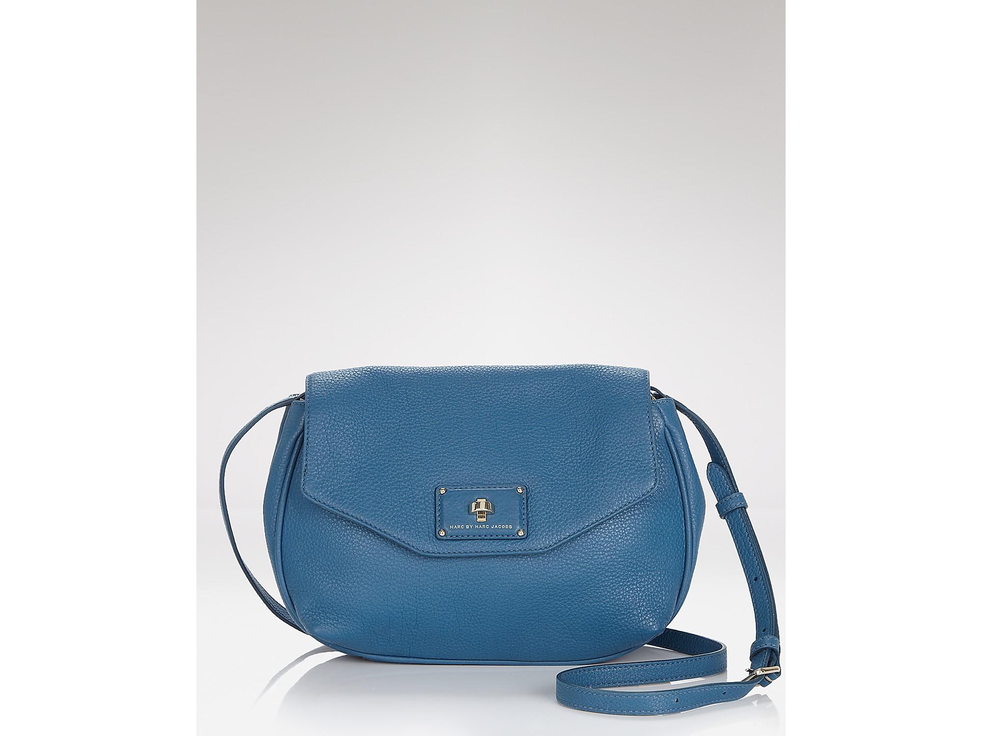3533c9354b27 Lyst - Marc By Marc Jacobs Les Zeppelin Flap Crossbody Bag in Blue