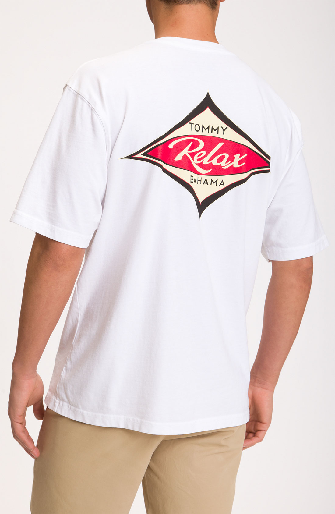 Tommy bahama relax surf tshirt in white for men lyst for Custom tommy bahama shirts