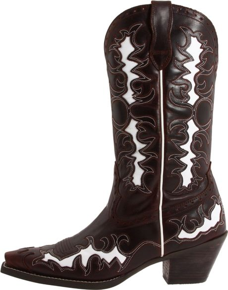 Ariat Ariat Womens Dandy Boot In Brown Side Saddle Brown