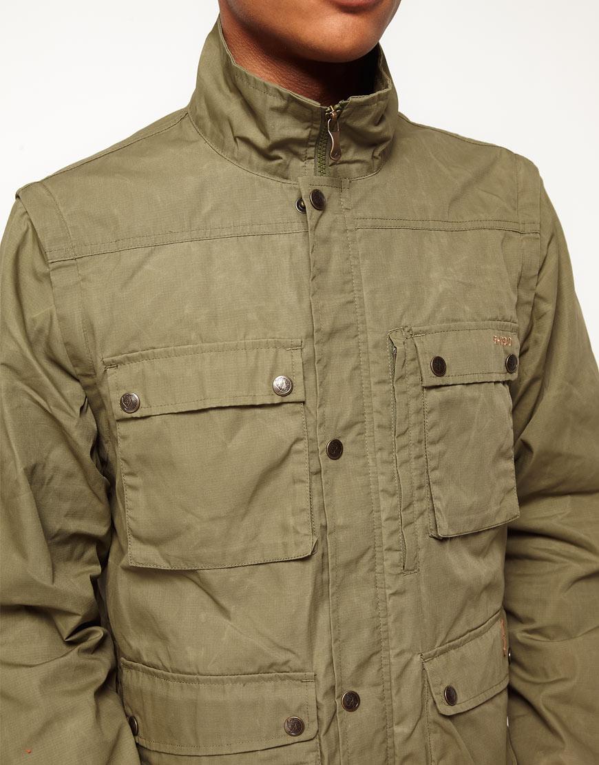 new arrival efaa6 cc924 Fjallraven Green Fjallraven G Reporter Jacket for men