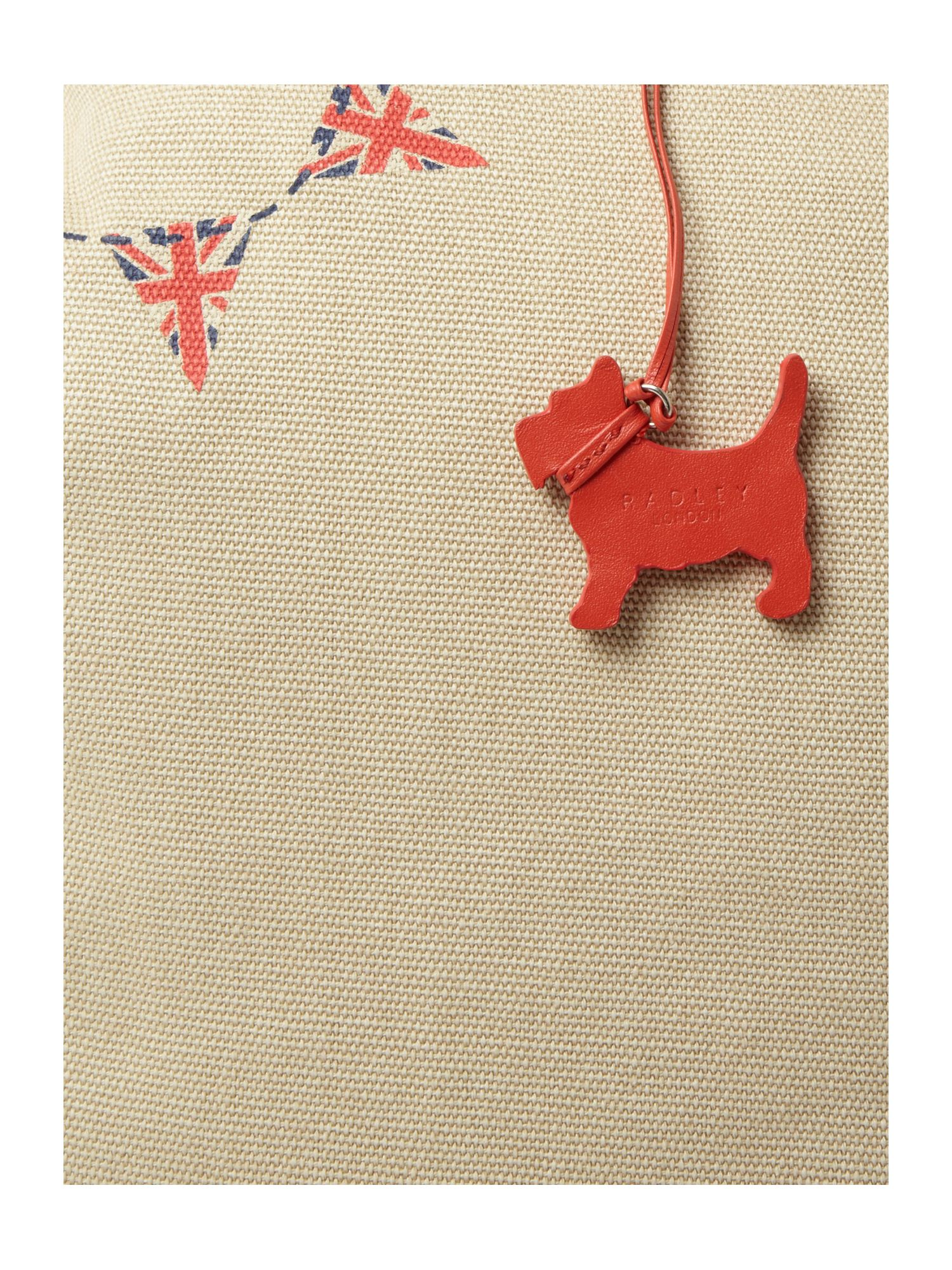 Radley Union Jack Bunting Large Ns Tote in Natural