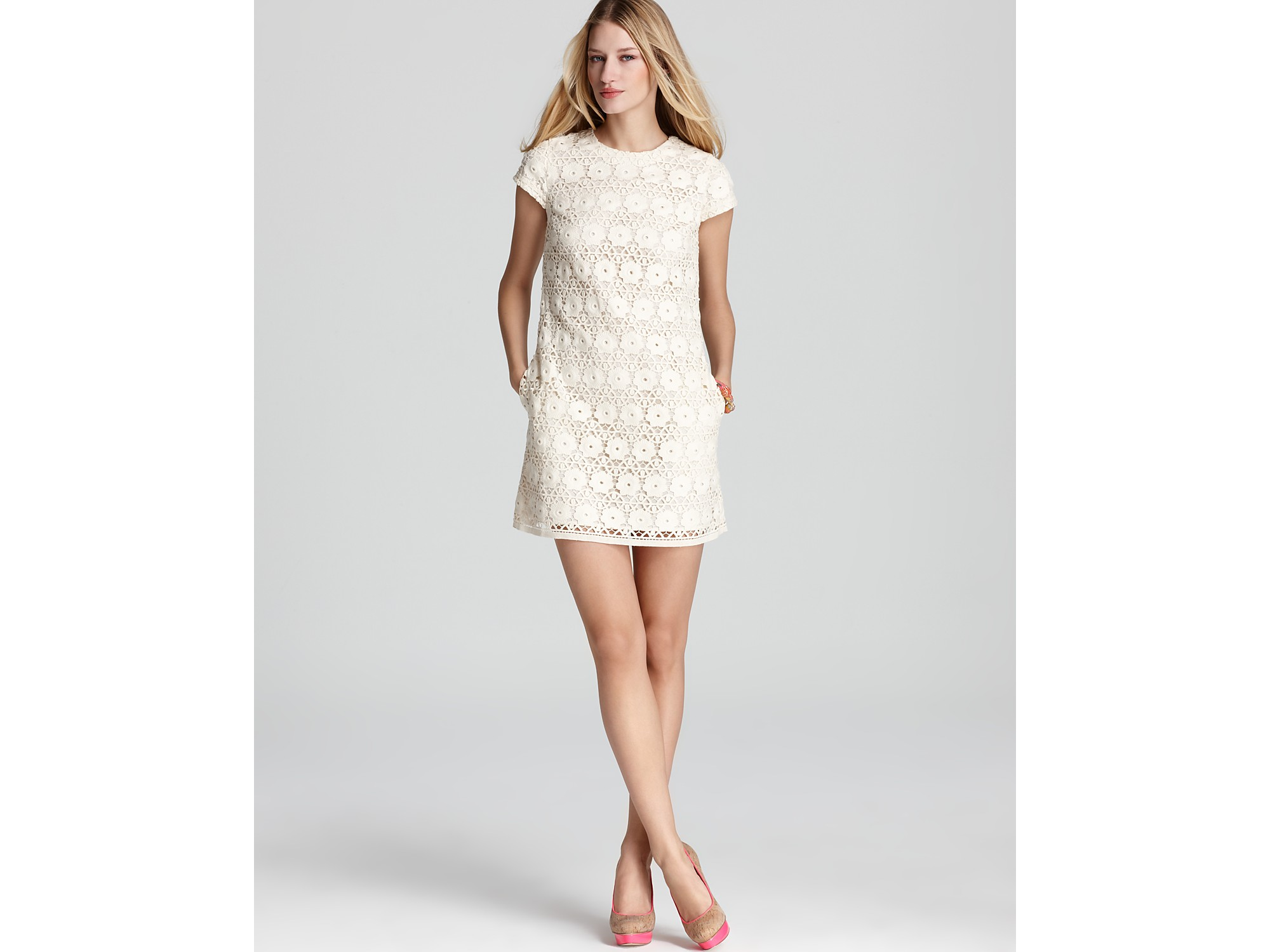 Juicy Couture Lace Guipure Dress Lyst