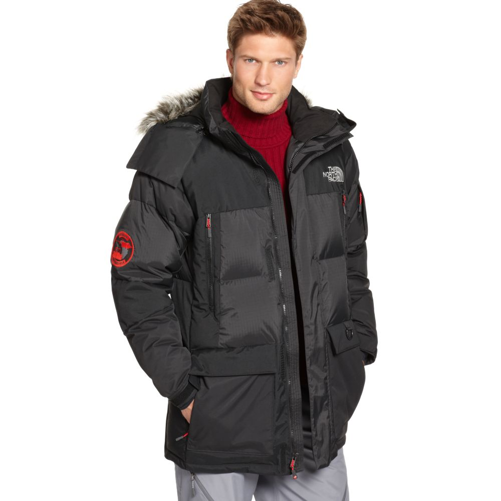 03d46c0cf The North Face Black Summit Series Vostak Parka for men