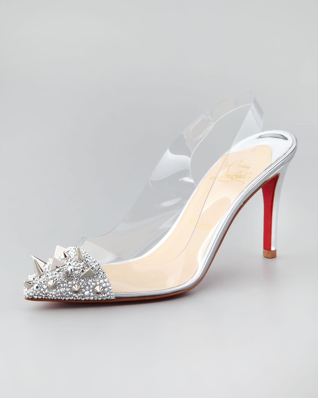 2a66e920bbec Christian Louboutin sling back heel My Posh Picks t